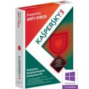 Kaspersky Anti-Virus 3PC - 1ROK
